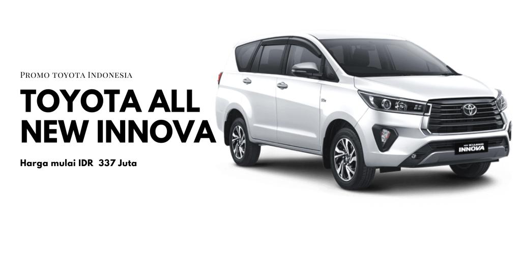 Toyota All New Kijang Innova Facelift 2020