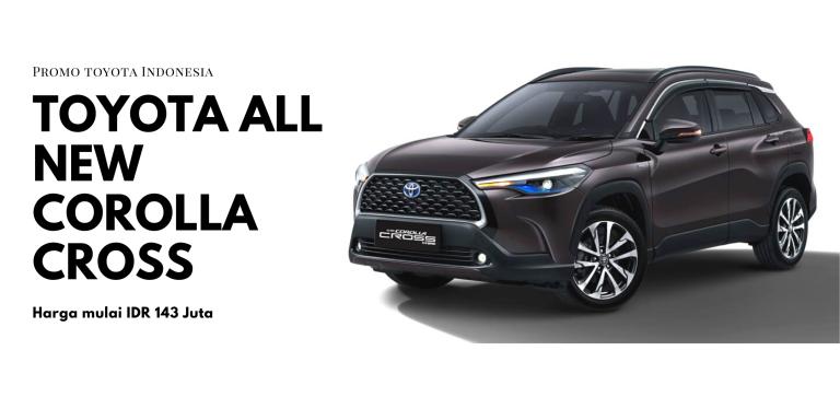 Toyota All New Corolla Cross