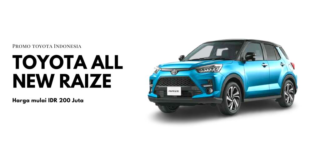 Toyota All New Raize