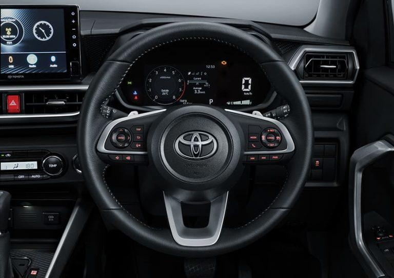Steering Wheel AC Raize